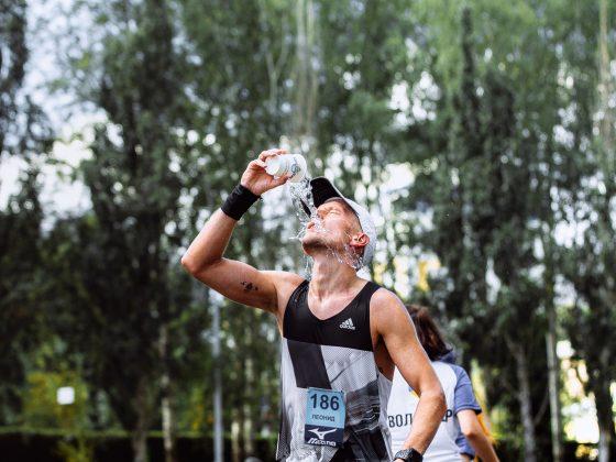 Hidratación antes de una maratón