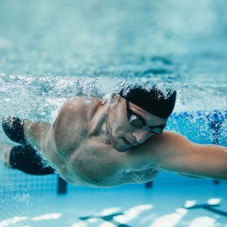 hidratación en natación