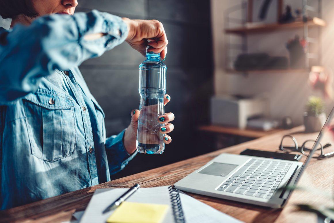 trabajo e hidratación